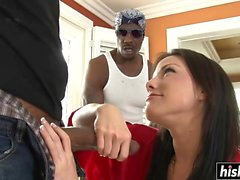 Double hard penetration for Jennifer White