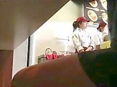 китайская дрочить ресторане отеля !!!!