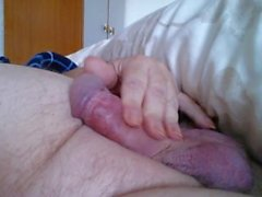 Daddy playing with his Morning Glory.