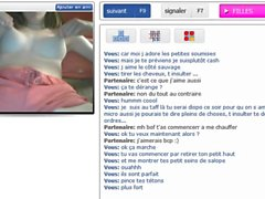 Awesome french girl on cam !