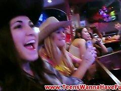 Teen party sluts sucking cock