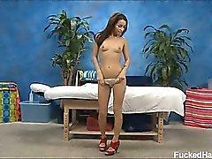 Sexy 18 year old brunette Gracie Ivanoe gets fucked hard