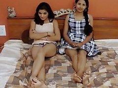 Akeli pyasi jawan Bhabhi den XXX desi lesbiska kvinnor urduen flickor vandrarhemmet berättelsen glamour