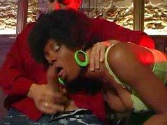 French ebony disco sex!