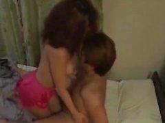 Japanese Scandal Wife Having Affair Part I
