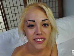CastingAllaItaliana - Blonde gets fucked in Italian casting