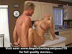 Badass Naked Amateur Blonde Fucked Hard And Rides Cock In