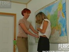 Lesbian teacher sexually seduces student slut