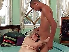 Young Men and Horny Grannies Compilation
