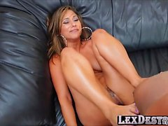 College big tits Reena Sky gets hammered by Lexington Steele