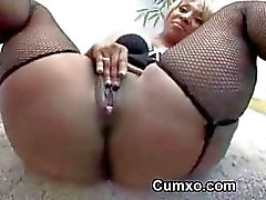 Ghetto Hot Busty Slut Sucking Big Black Cock