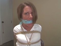 Housewife pantygagged and humiliated!