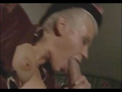 Hot short hair blonde Olga gets wet pussy fucked