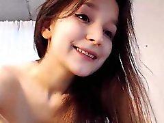 Cute Teen Kız kardeş kedi Webcam üzerinde