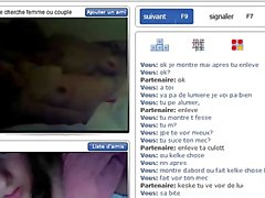 french couple on bazoocam