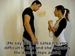 Cogiendo una maestra de baile