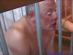 Mature mistress fucking her wanting slaves