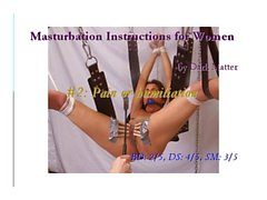Masturbation Instructions for Women #2
