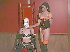Perky Lesbians In Kiny Fetish Role Playing