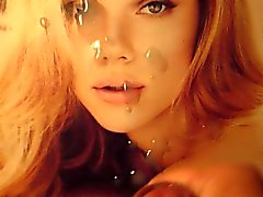 Scarlett Johansson Cum Tribute Bukkake
