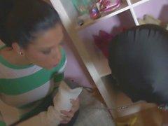 Goddess humiliating her Slave