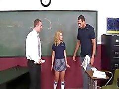 söt schoolgirl åtnjuter jävla