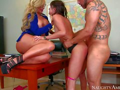 Hope Howell shares classmate s dick with her teacher Phoenix Marie