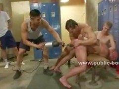 Gay sapıkça Çıtçıt sıkı eşek ve sert horoz fuck matkap makinesi kullanmak