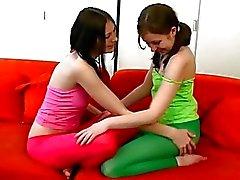 Teens stretch pussy