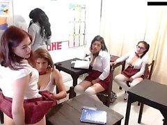 Skinny teen physical exam hidden cam video