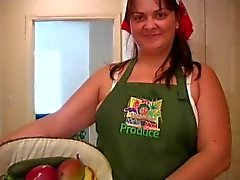 Angela and Her Produce