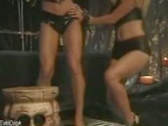 Unverified BDSM Bondage - Lesbian Mistress with strapon VQ