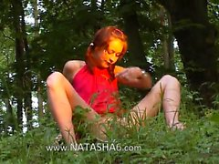 Natasha forest girl from germany