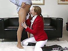 Stockings amateur fucked hard
