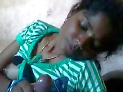 Shy Tamil girl suck dick with audio