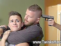 Pornô gay Andy Taylor, de Ryker Madison e de Ian Levine foram de 3 do lil as prostitutas