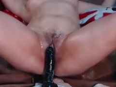 Incredible Curly Milf Squirt Orgasm On Cam