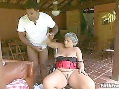 Granny can suck a mean cock!