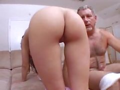 Ashley Belle vs Jay Crew - Daddy Gets Lucky