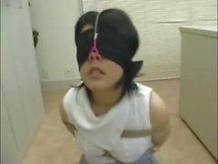 Japanin tyttö nenä koukku anna suihin