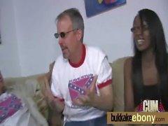 Ebony gangbanged interracial 29