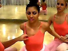 Teenager Besties Bumsen Sie das Neuen Ballerina !