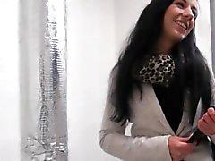 Czech girl Terra Sweet gets her pussy banged for money