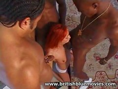 Donna Marie - Black Cock Gang Bang