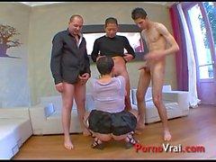 Mature anal elle crie ...je jouie !!! French amateur