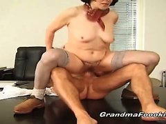 Two nasty grannies having hardcore fun