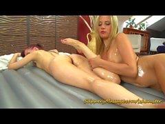lesbian slippery nuru massage sex