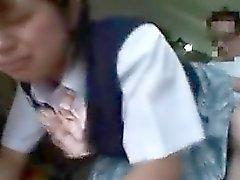 Aasialaisia koulutyttö kuuma ass tuomitaan ei onnellinen