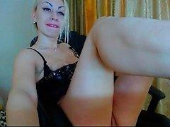 Silvia Saint Stripping and Solo Masturbation Compilation