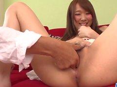 Karin Aizawa gets down on cock during - More at 69avs
